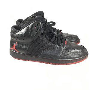 Jordan 1 Flight 4 Premium Sneakers Black/Red Sz 13